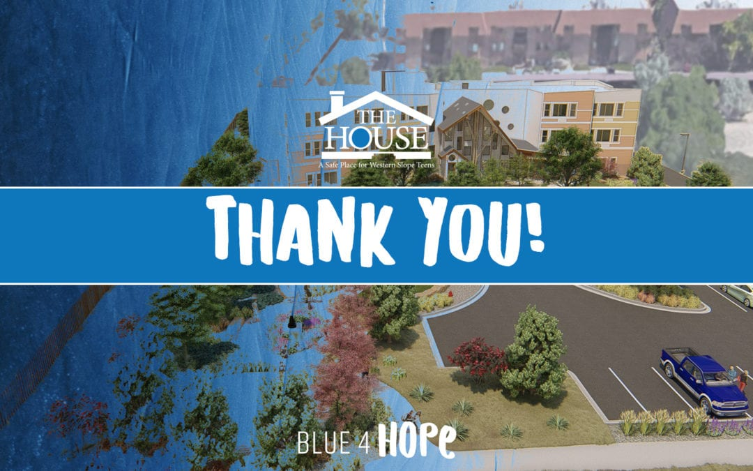 Blue 4 Hope – Thank YOU!